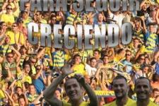Cartel de temporada de Aguada Amarilla: UNIDOS PARA SEGUIR CRECIENDO