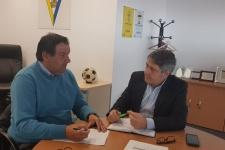 Colaboración entre la Fundación Cádiz CF y la FPC