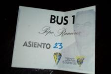 """El bus """"Pepe Ramirez"""" estará en Almeria. Últimas plazas disponibles"""