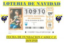 10910 Número de la Loteria de Navidad de la FPC