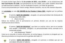 LA PEÑA CADISTA CUATRO GATOS PRESENTA SU GALA BENEFICA ANUAL